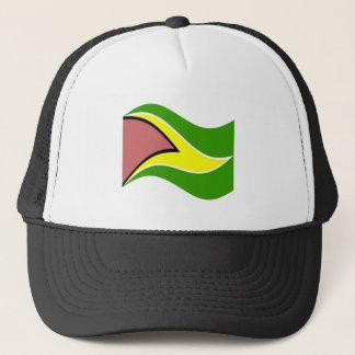 ガイアナの振る旗 キャップ