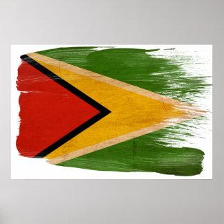 ガイアナの旗ポスター ポスター