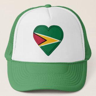 ガイアナの旗 キャップ