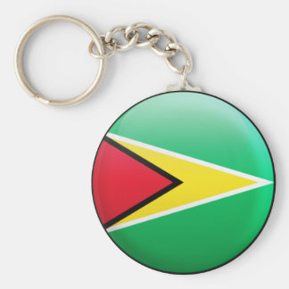 ガイアナの旗 キーホルダー