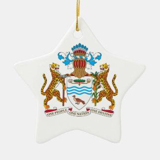 ガイアナの紋章付き外衣 セラミックオーナメント