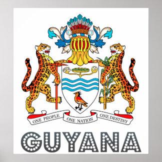 ガイアナの紋章付き外衣 ポスター