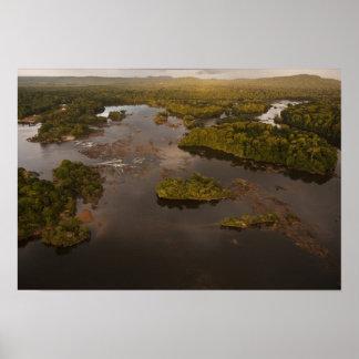 ガイアナのEssequiboの川、最も長い川、および4 ポスター