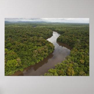 ガイアナのEssequiboの川、最も長い川、および5 ポスター