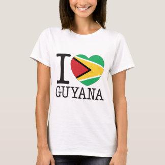 ガイアナ愛v2 tシャツ