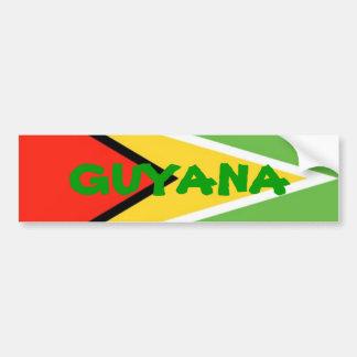 ガイアナ旗、ガイアナ バンパーステッカー