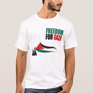 ガザのTシャツのための自由 Tシャツ