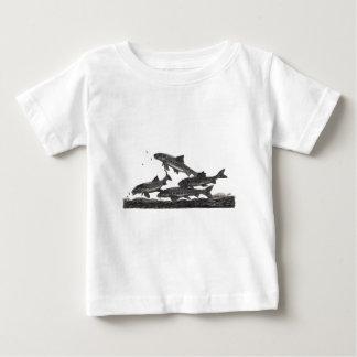 ガジョンの魚釣り ベビーTシャツ