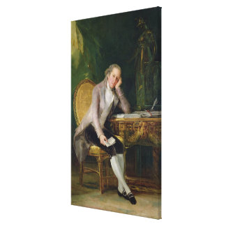 ガスパルMelchor de Jovellanos 1797-98年(canvの油 キャンバスプリント