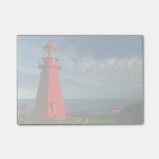 ガスペのLaのMartreの灯台| Matane ポストイット