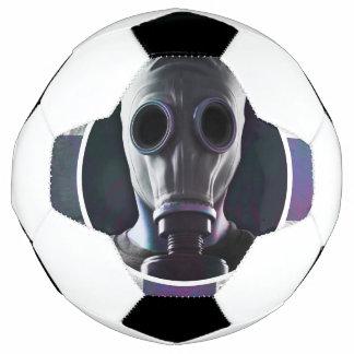 ガスマスクのサッカーボール サッカーボール
