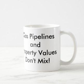 ガス・パイプラインのandPropertyのValuesDon'tの組合せ! コーヒーマグカップ