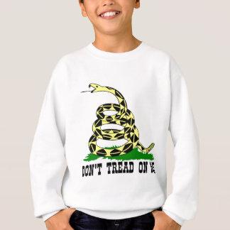 ガズデンのヘビは私で踏みません スウェットシャツ