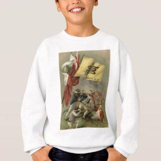 ガズデンの旗革命的な戦争のバンカーヒル スウェットシャツ