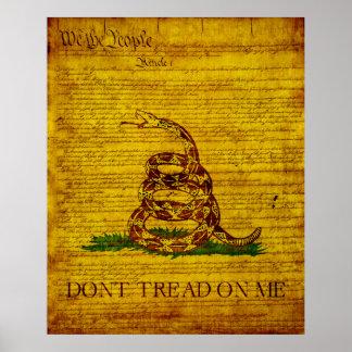 ガズデンの旗 ポスター