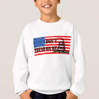 ガズデンの星は及び縞で飾ります スウェットシャツ