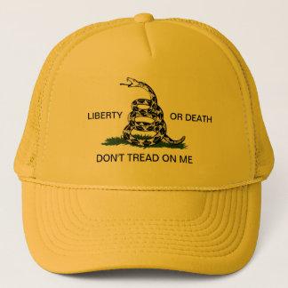 ガズデンの自由か死は私で帽子を踏みません キャップ