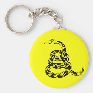 ガズデンはガラガラヘビを巻きました キーホルダー