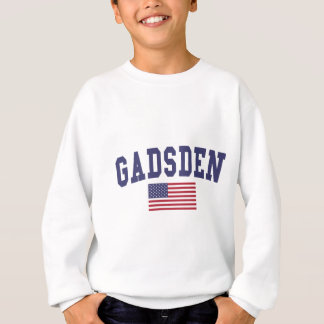 ガズデン米国の旗 スウェットシャツ