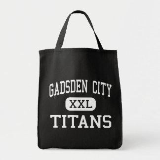 ガズデン都市-タイタン-高ガズデンアラバマ トートバッグ