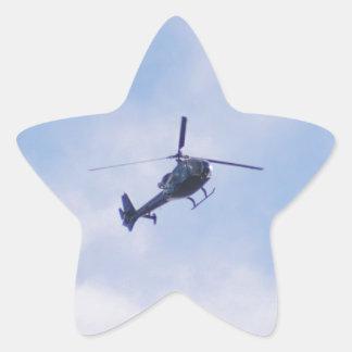 ガゼルのヘリコプター 星シール