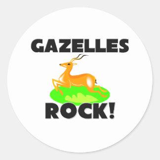 ガゼルの石 ラウンドシール