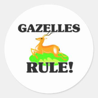 ガゼルの規則! ラウンドシール