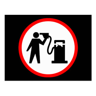ガソリン自殺 ポストカード