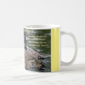 ガチョウの系列-従順が付いているコーヒー・マグ コーヒーマグカップ