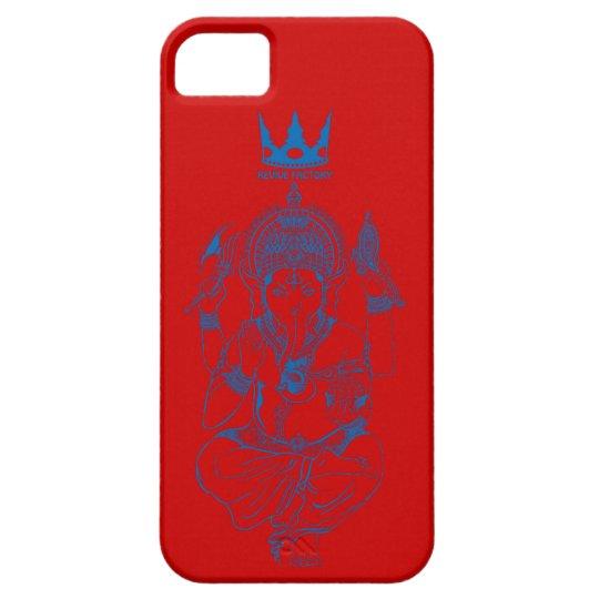 ガネーシャ(青) iPhone SE/5/5s ケース