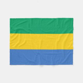 ガボンの国民の世界の旗 フリースブランケット