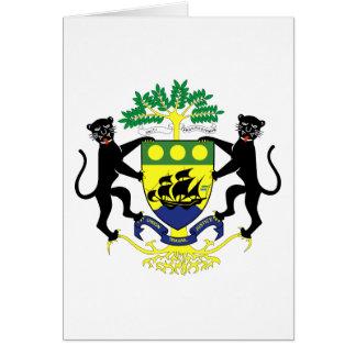 ガボンの紋章 カード