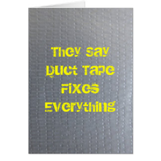 ガムテープはすぐによく得ます カード