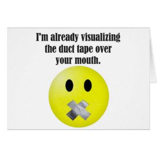 ガムテープ カード