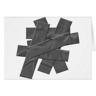 ガムテープ グリーティングカード