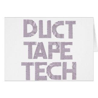 ガムテープTECH カード