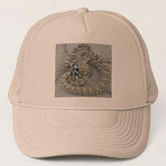 ガラガラヘビが付いている帽子 キャップ