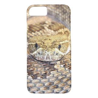 ガラガラヘビの顔 iPhone 8/7ケース