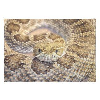 ガラガラヘビ ランチョンマット