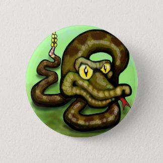 ガラガラヘビ 缶バッジ