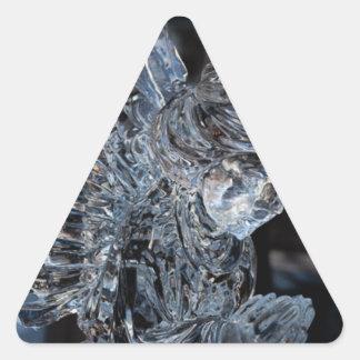 ガラスに天使の祈ること 三角形シール