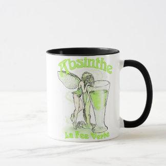 ガラスを持つアブサンのLa料金のVerteの妖精 マグカップ