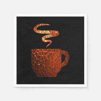 ガラスコーヒーナプキン スタンダードカクテルナプキン