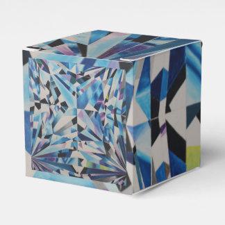 ガラスダイヤモンドのクラシックな2x2好意箱 フェイバーボックス