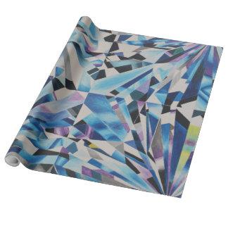 """ガラスダイヤモンドのリネン包装紙、30"""" x 15' ラッピングペーパー"""