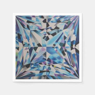 ガラスダイヤモンドの標準的なカクテルの紙ナプキン スタンダードカクテルナプキン