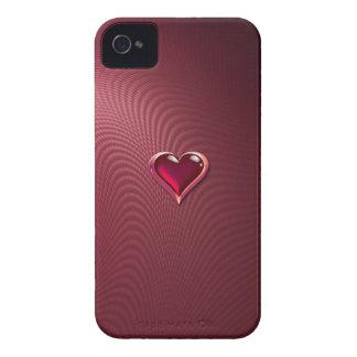 ガラスハートのiPhone 4/4Sの場合 Case-Mate iPhone 4 ケース