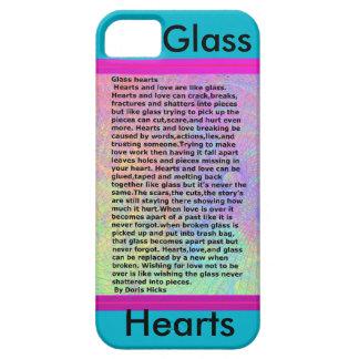 ガラスハート iPhone SE/5/5s ケース