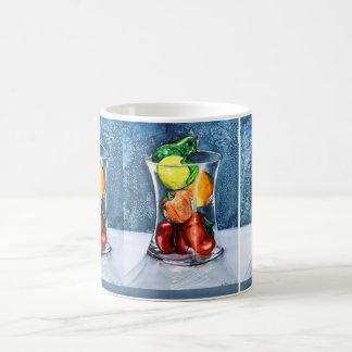 ガラスフルーツのマグ コーヒーマグカップ
