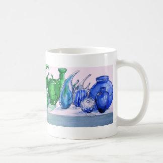 ガラスマグの虹 コーヒーマグカップ